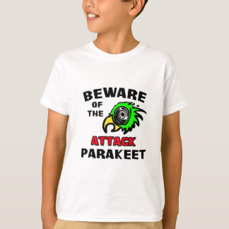 Attack Parakeet T-Shirt