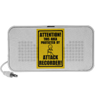 Attack Recorder Travelling Speakers