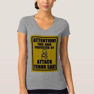 Attack Tenor Sax T-Shirt