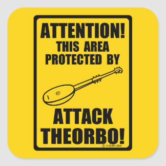 Attack Theorbo Stickers