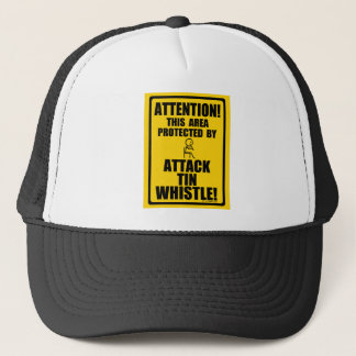 Attack Tin Whistle Trucker Hat