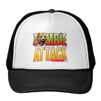 Attack Zombie Head Mesh Hats
