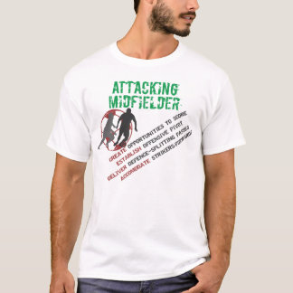 Attacking Midfielder's Roles T-Shirt