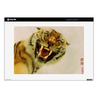 "Attacking Tiger by Sukai Asian-style Wildlife Art Skin For 15"" Laptop"