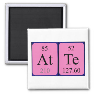 Atte periodic table name magnet