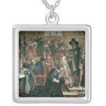 Attempted arrest of 5 members of the House Silver Plated Necklace