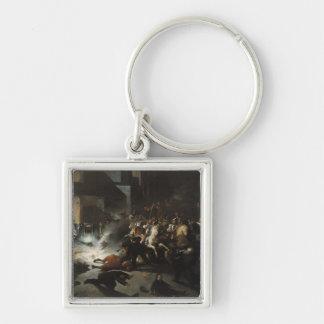 Attempted Assassination of Emperor Napoleon Keychain