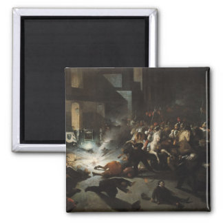 Attempted Assassination of Emperor Napoleon Magnet