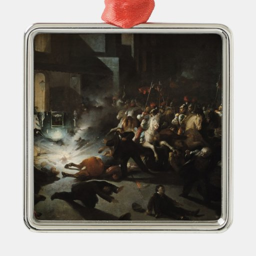 Attempted Assassination of Emperor Napoleon Christmas Ornaments
