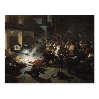 Attempted Assassination of Emperor Napoleon Postcard