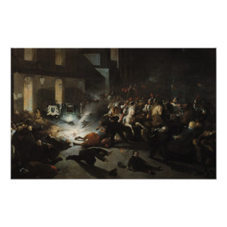 Attempted Assassination of Emperor Napoleon Poster
