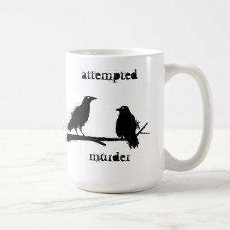 attempted murder crows mug