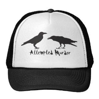 Attempted Murder trucker hat