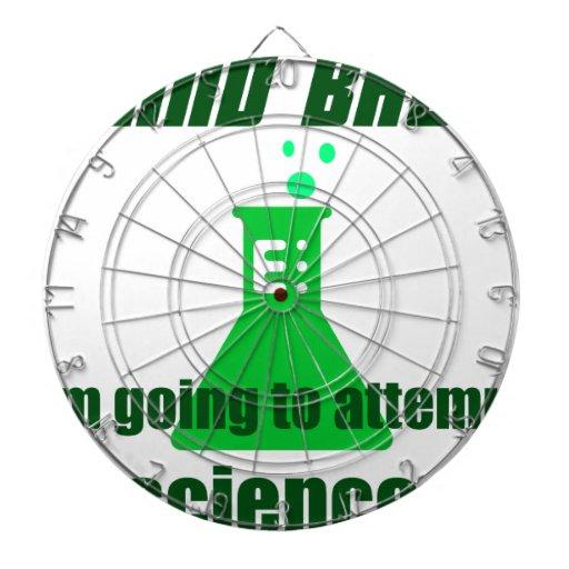 Attempting Science Dart Boards