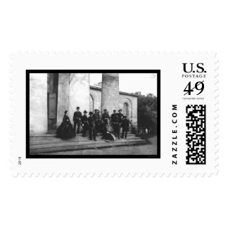 Attendees of the Funeral of Robert E. Lee 1870 Postage Stamp