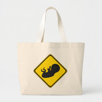 Attention: Baby Ahead! Canvas Bag