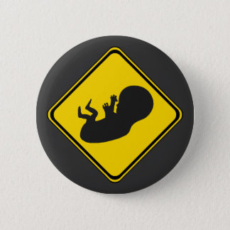 Attention: Baby Ahead! Button