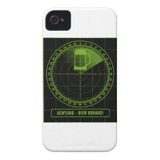 Attention beer ahead radar iPhone 4 case