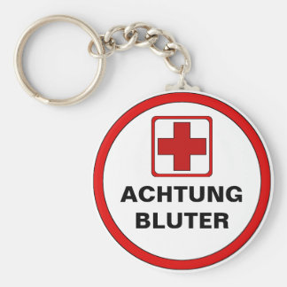 Attention - BLUTER Key Chains