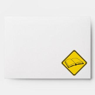 Attention: Books! Envelope