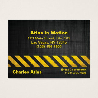 Attention Business Card