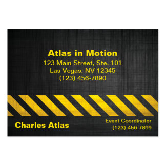 Attention Business Card Templates