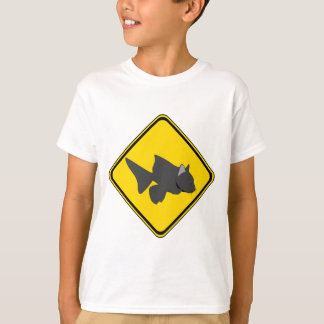 Attention: Catfish Crossing! T-Shirt