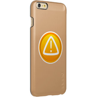 Attention Caution Symbol Incipio Feather® Shine iPhone 6 Plus Case