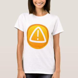 Attention Caution Symbol T-Shirt
