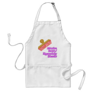 Attention Deficit - Hyperactivity Disorder Apron