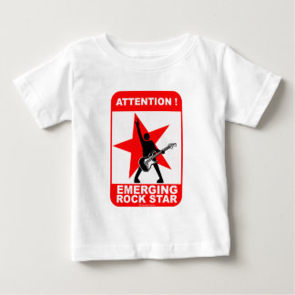 Attention! emerging rock star! baby T-Shirt