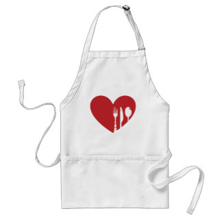 Attention Food Lovers: Show your Love of Food! Adult Apron