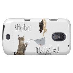 attention, intelligent cat galaxy nexus case