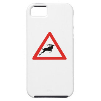Attention Kudus, Traffic Sign, South Africa iPhone 5 Case
