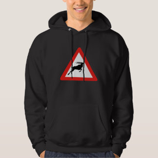 Attention Kudus, Traffic Sign, South Africa Hooded Sweatshirt