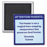 Attention Parents Refrigerator Magnet