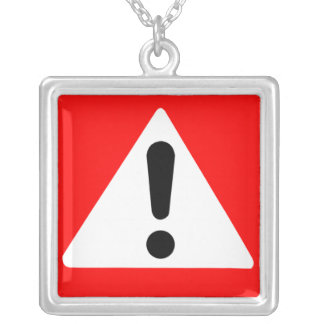 Attention Triangle Symbol Custom Jewelry