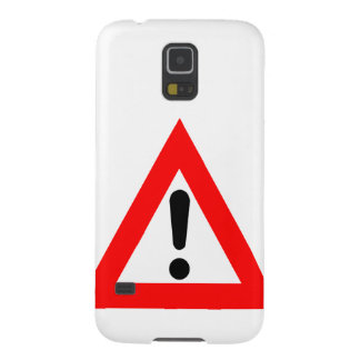 Attention Triangle Symbol Galaxy S5 Cover