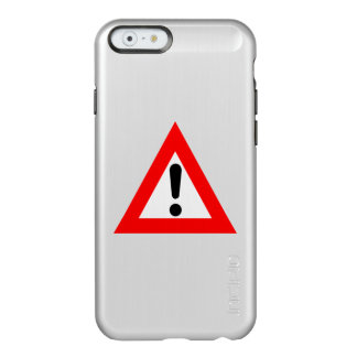 Attention Triangle Symbol Incipio Feather® Shine iPhone 6 Case