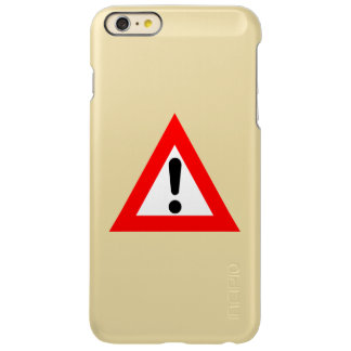 Attention Triangle Symbol Incipio Feather® Shine iPhone 6 Plus Case