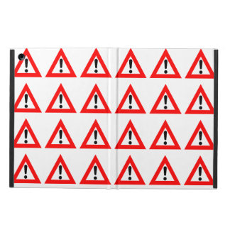 Attention Triangle Symbol iPad Air Cover