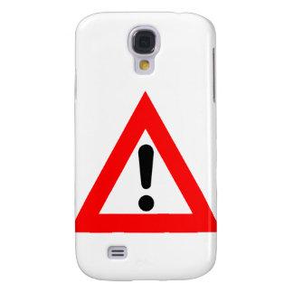 Attention Triangle Symbol Samsung S4 Case