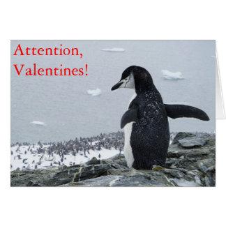 Attention Valentines! Card