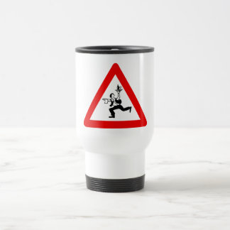 Attention Waiters Sign, Austria Travel Mug