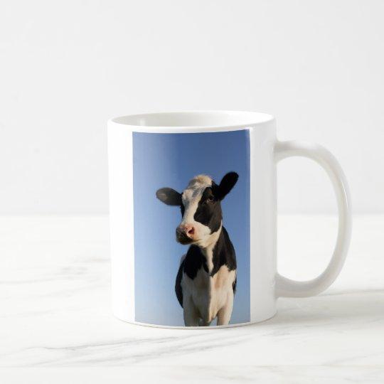 Attentive cow coffee mug
