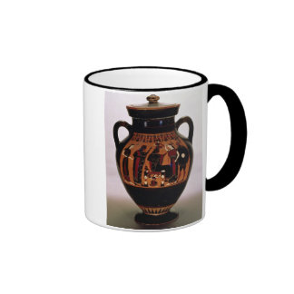 Attic black-figure amphora depicting the Birth of Coffee Mug