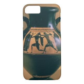 Attic black figure amphora depicting Theseus and t iPhone 7 Case