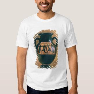 Attic black figure amphora depicting Theseus and t T-shirt