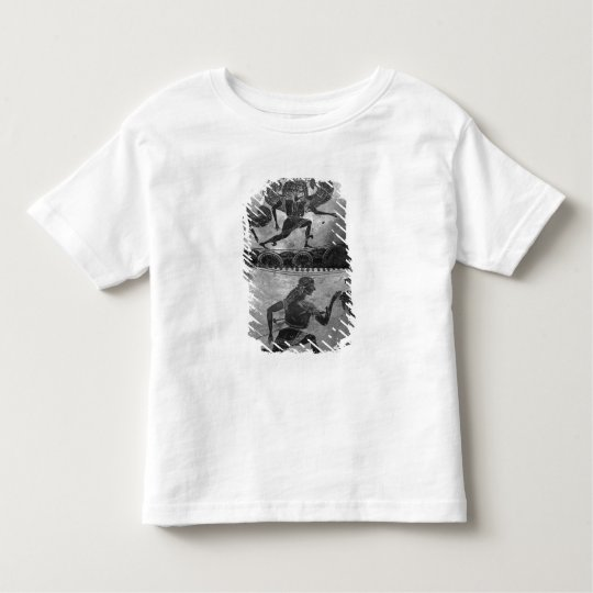 Attic black-figure dinos toddler t-shirt