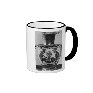 Attic black figure hydra coffee mug